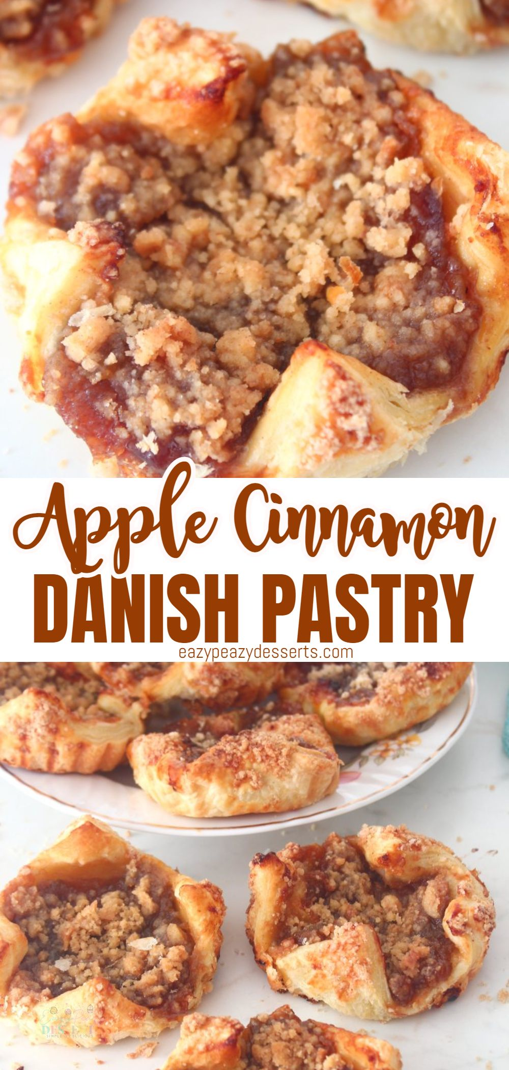 Apples are available in any season and they can be served in sooo many recipes! I just thought of making a Apple Danish recipe for today. via @eazypeazydesserts