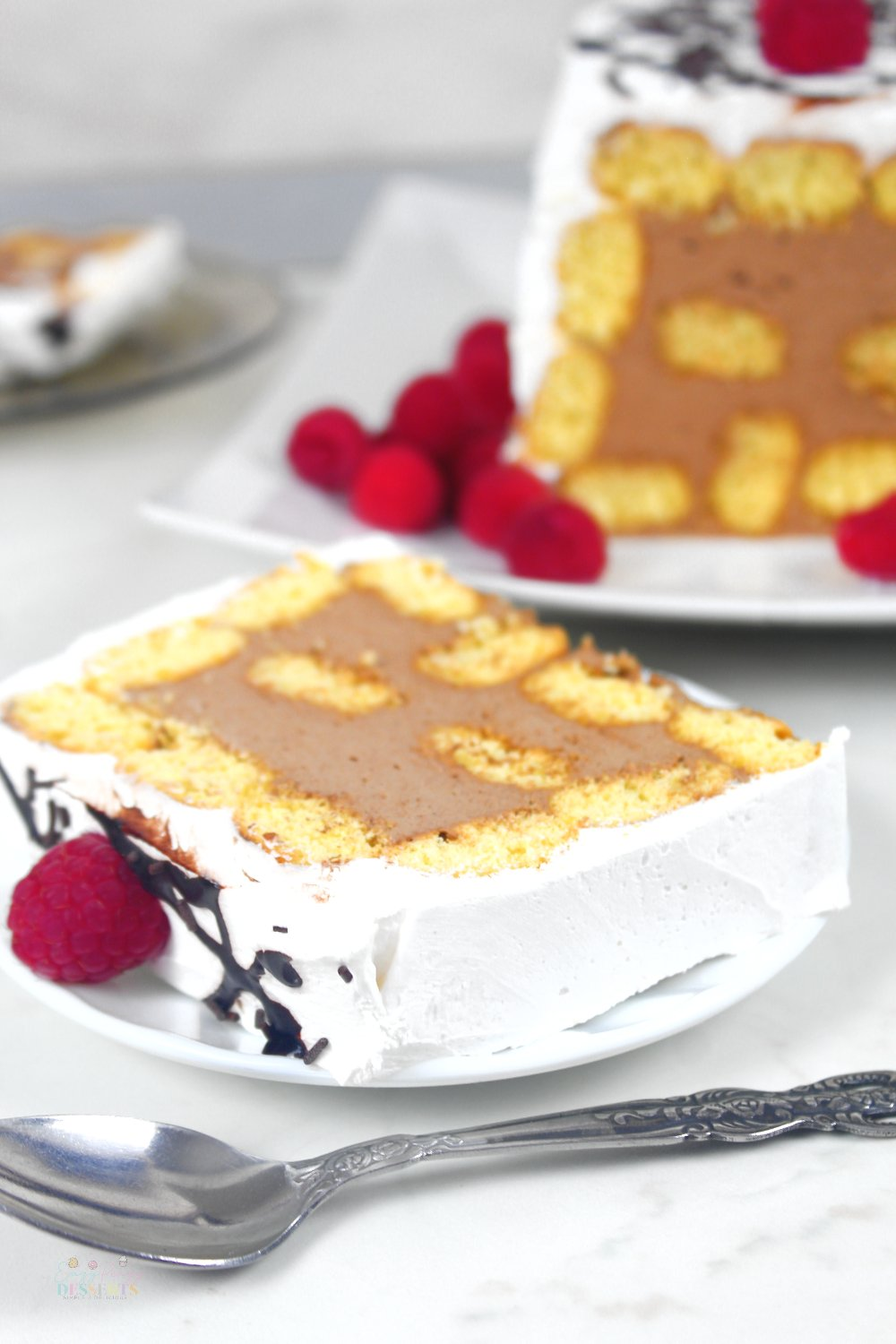 Easy chocolate mousse cake