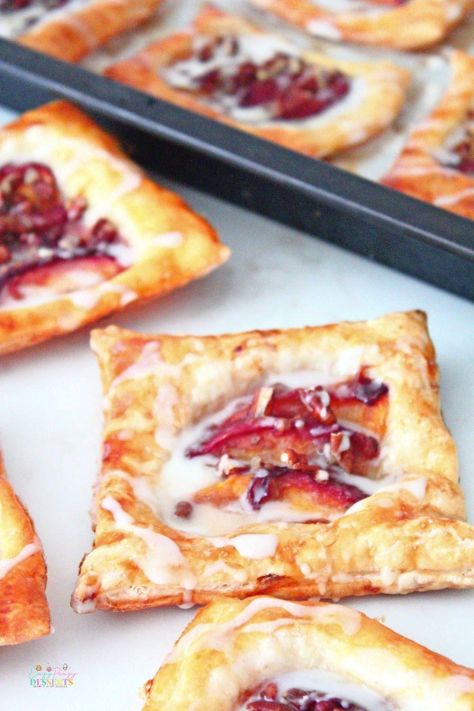 Peach Danish recipe