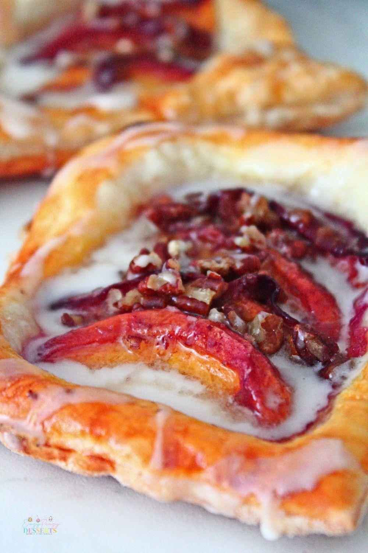 Peach puff pastry recipe